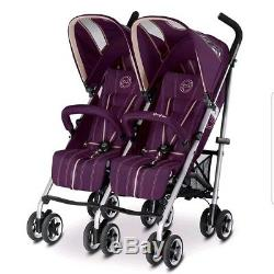 Pushchair stroller Twins Cybex gold TWINYX stroler u2 0/4year Child Baby £699