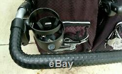 RUNABOUT Twin Tri Mode Valco Baby Double Jogging Stroller All Terrain Not $699