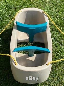 STEP 2 Double Two Child Toddler Swing TWINS Tandem RARE! Ships Fast