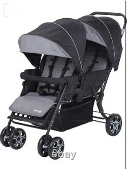 Safety 1st Teamy Double Stroller for Twins / Children Close Age 0 To 3.5 Years