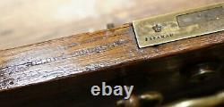 Stamped Gillows Lancaster Double Sided Twin Pedestal Partner Desk Figured Oak