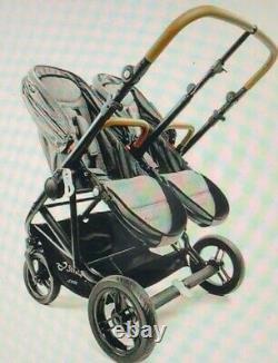 StrollAir Twin Way. The Best Twin Stroller. Double Stroller Side by Side. NEW