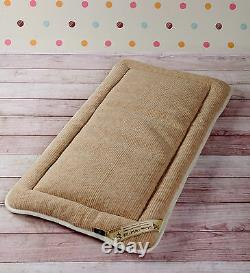 THICK MERINO WOOL PERUGIANO NATURAL Mattress Topper Bed Cover SIZES KING DOUBLE