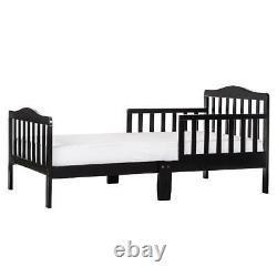 Toddler Bed Wood Girl Boy Furniture Bedroom Child Kids With Two Side Safety Rail