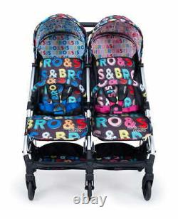 Twin Stroller/buggy Cosatto Woosh Double Sis & Bro Cosatto