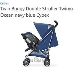 Twin baby Pushchair stroller Cybex gold TWINYX stroler u2 0/4 year Child Baby