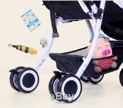Twins baby double stroller duo jogger two child can split pushchair combi buggy