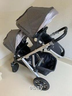 Uppa Baby Vista Twin Stroller + Extras