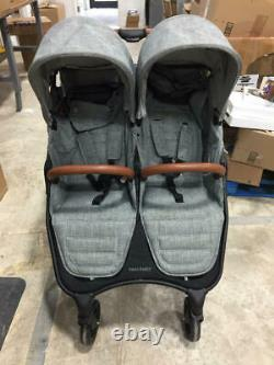 Valco Baby 2018 Snap Duo Trend Twin Double Stroller 2 Seats Folding Grey Marle