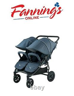 Valco Baby Neo Twin Double Lightweight All Terrain Stroller NEW FREE SHIPPING