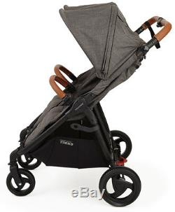 Valco Baby Snap Duo Trend Lightweight Twin Baby Double Stroller 2018 Charcoal