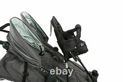Valco Baby Twin Tri Mode Duo X Double Triple Stroller Dove Grey with Toddler Seat