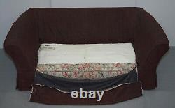 Vintage Reylon Medium Sofabed And Matching Armchair With Removable Covers