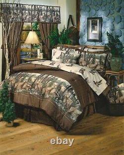 Whitetail Dreams Cotton Comforter Set 4-Piece Bedding Set King Queen Twin Size