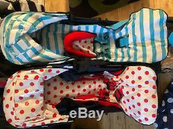 181 Cosatto Bro Sis Double Buggy Puschair Avec Accessoires