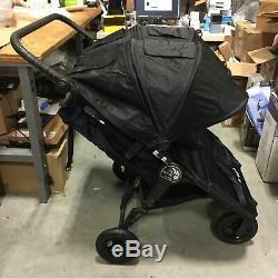 Baby Jogger 2019 City Mini Gt Double Twin Seat Bébé Poussette, Tout-terrain, Noir