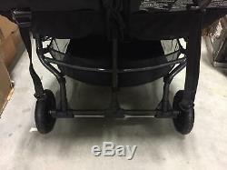 Baby Jogger 2019 City Mini Gt Double Twin Seat Bébé Poussette Tout-terrain Noir