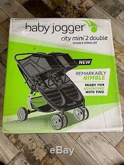 Baby Jogger City Mini 2 Twin Double Poussette Jet 2020 Nouveau