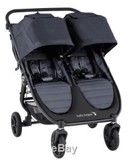 Baby Jogger City Mini Double Bébé Gt2 Double Poussette Carbon Nouveau 2020