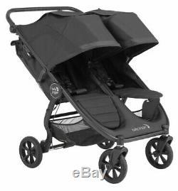 Baby Jogger City Mini Double Bébé Gt2 Double Poussette Slate Nouveau 2020