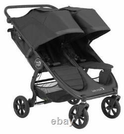 Baby Jogger City Mini Gt2 Twin Baby Double Poussette Jet Nouveau Dans La Boîte 2020