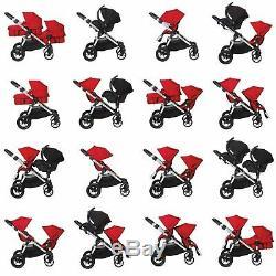 Baby Jogger City Select Double Tandem Poussette Double Avec Second Lagoon Seat