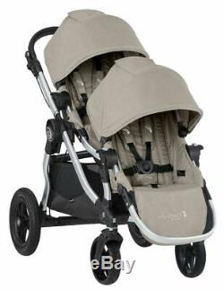 Baby Jogger City Select Double Tandem Poussette Double Avec Second Paloma Seat