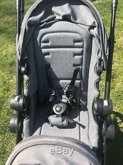 Baby Jogger City Select Lux Double Tandem Poussette Double Avec Second Granit Seat
