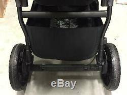 Baby Jogger City Select Lux Double Tandem Poussette Double Avec Second Seat Granite