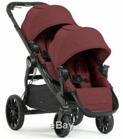 Baby Jogger City Select Lux Double Tandem Poussette Double Avec Second Seat Port Nouveau