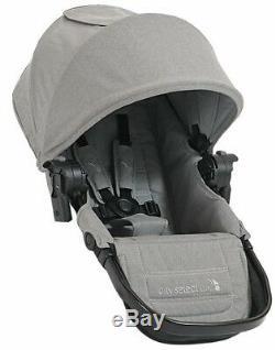Baby Jogger City Select Lux Double Tandem Poussette Double Avec Second Seat Slate