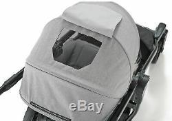 Baby Jogger City Select Lux Twin Double Poussette Indigo W Second Seat Bassinet