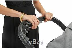 Baby Jogger City Select Lux Twin Double Poussette Port Avec Second Seat & Bassinet