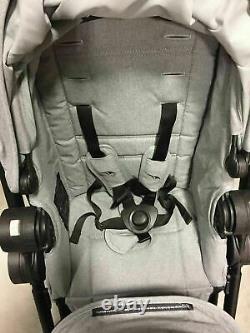 Baby Jogger City Select Lux Twin Tandem Double Baby Poussette + Ardoise Second Siège
