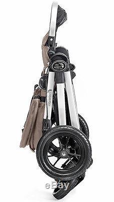 Baby Jogger City Select Poussette Double Tandem Double Quartz Avec Deuxième Siège Nouveau