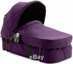 Baby Jogger City Select Twin Double Poussette Amethyst W Second Seat & Bassinet