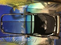 Baby Jogger City Sélectionner Lux Twin Double Poussette W Second Seat Slate Nouveau
