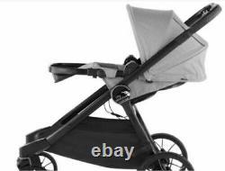 Baby Jogger City Sélectionner Lux Twin Tandem Double Poussette Avec 2 Places Assises En Granit