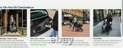 Baby Jogger City Tour 2 Twin Double Compact Pold Travel Poussette Seacrest Nouveau