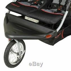Baby Trend Expedition Swivel Double Poussette Jogger Pour Bébé Millennium Twin