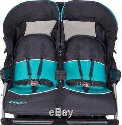 Baby Trend Navigator Poussette Double Jogger Tropic Baby Enfant Jumeaux Enfants Meilleur Nouveau