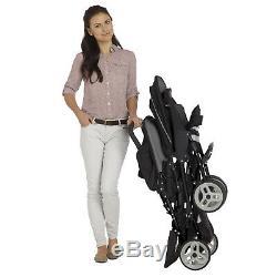 Bébé Graco Enfant En Bas Âge Tandem Twin Double Landau Poussette Buggy Pushcair Inc Raincover