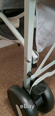 Billie Faiers Mb22 Gris Chevron Double Strolle. Utilisé. Rrp £ 199.99