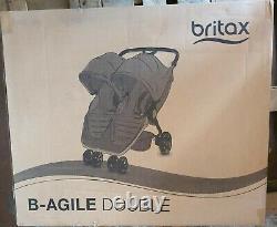 Britax B-agile Double Cosmos Noir Britax Twin Pushchair £345
