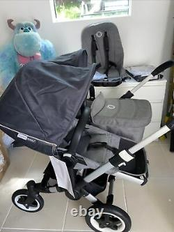 Bugaboo Donkey2 Duo/double/twin Buggy Marque New Stellar Hoods
