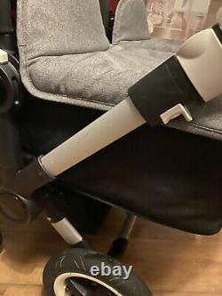 Bugaboo Donkey Complete Twin Set 2 Sièges, 2 Carrycots, 2 Sièges D'auto Et 2 Isofix