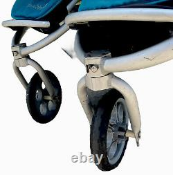 Bumbleride Indie Double Poussette Pliable Rangement Facile De Transport Bon Cond