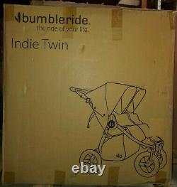 Bumbleride Indie Twin All Terrain Twin Baby Double Poussette