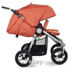 Bumbleride Indie Twin Compact Fold Baby Double Poussette Clay Nouveau