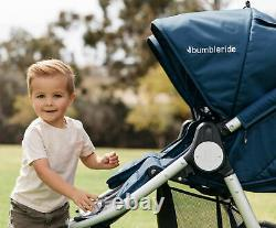 Bumbleride Indie Twin Tout Terrain Twin Baby Double Poussette Bleu Maritime 2018